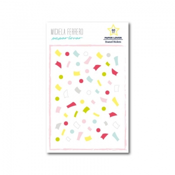 Enamels Confetti Paper Lover